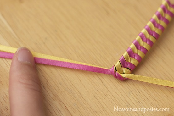 Ribbon Barrette Knot