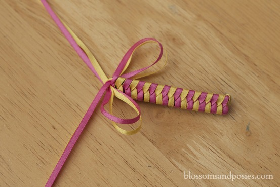 Pink Ribbon Barrette