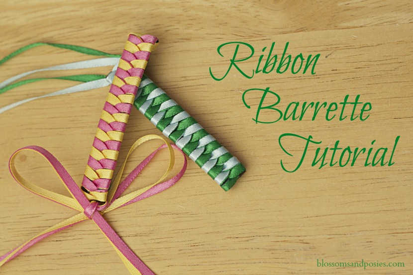 Ribbon Barrette Tutorial