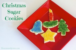 Sugar Cookie Recipe - Blossoms and Posies