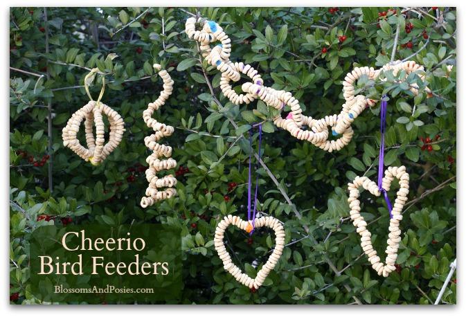 Cheerio Bird Feeder - BlossomsAndPosies.com