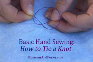 How To Tie A Knot - BlossomsAndPosies.com