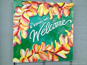 A Hawaiian welcome - BlossomsAndPosies.com