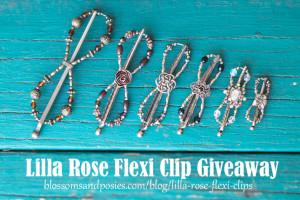Lilla Rose Flexi Clip Giveaway 10/3/13-10/9/13