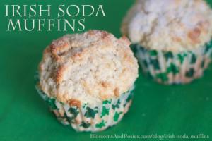 Irish Soda Muffins Blossomsandposies Com