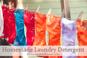 Make your own laundry detergent with three ingredients! #frugal #DIY #homemaking
