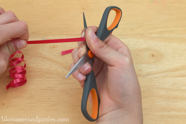 diy curling ribbon gift topper