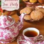 Host an autumn tea party filled with pumpkin, apple and cranberry goodies!