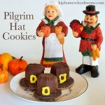 Grab the kids and make these cute and easy Pilgrim Hat Cookies for Thanksgiving!