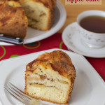 Cinnamon Apple Cake - a great cake for company!