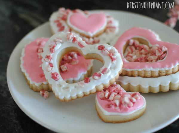 Try these Cookie Hearts at your next tea party!