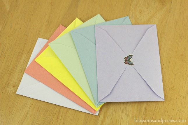 Sticker Envelopes Make Your Own